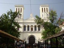 La iglesia luterana de San Pedro y de Saint Paul, St Petersburg Fotografía de archivo