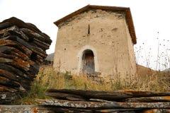 La iglesia medieval Foto de archivo libre de regalías