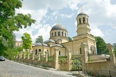 La iglesia metropolitana de San Miguel en Kiev foto de archivo