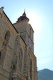 La iglesia negra, Brasov, Rumania Imágenes de archivo libres de regalías