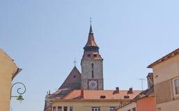 La iglesia negra, Brasov, Rumania Foto de archivo
