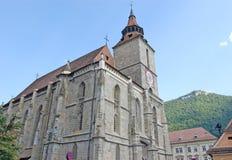 La iglesia negra, Brasov, Rumania Fotos de archivo libres de regalías