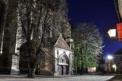 La iglesia negra, Brasov, Rumania Fotografía de archivo libre de regalías