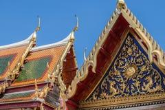 La iglesia, oro alto se eleva, tailandés, Asia, Bangkok foto de archivo libre de regalías