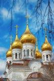 La iglesia ortodoxa Fotos de archivo