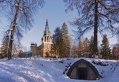 La iglesia ortodoxa actual de los apóstoles santos Peter y Paul Imagen de archivo libre de regalías