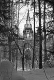 La iglesia ortodoxa actual de los apóstoles santos Peter y Paul Fotografía de archivo