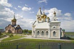 La iglesia ortodoxa, convento Foto de archivo libre de regalías
