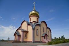 La iglesia ortodoxa, convento Fotografía de archivo libre de regalías