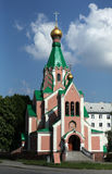La iglesia ortodoxa dedicó al santo Gorazd en Olomouc Fotografía de archivo