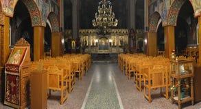 La iglesia ortodoxa griega Foto de archivo libre de regalías