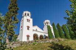 """La iglesia principal en  del St Kiril y de Metodii†del """"St del monasterio de Klisurski fotos de archivo"""