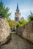 La Iglesia, Ruiloba - Espanha Imagem de Stock