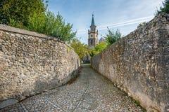 La Iglesia, Ruiloba - Spagna Fotografie Stock Libere da Diritti