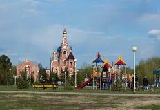 La iglesia rusa Foto de archivo libre de regalías