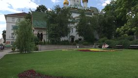 La iglesia rusa en Sofía