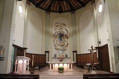 La iglesia San Mauro Mare en Bellaria, Italia imágenes de archivo libres de regalías