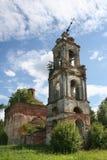 La iglesia vieja Foto de archivo libre de regalías