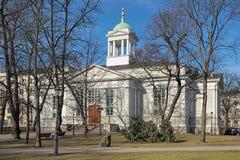 La iglesia vieja de Helsinki, Finlandia Foto de archivo