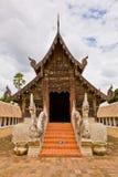 La iglesia vieja en el templo de Intravas Foto de archivo