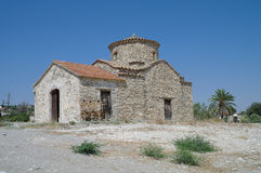 La iglesia vieja en Lefkara.Cyprus. fotos de archivo