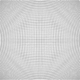 La ilusión abstracta del vector len la textura blanca Imagenes de archivo