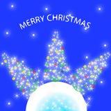 La ilustración de la Navidad Fotografía de archivo libre de regalías