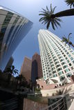 LA im Stadtzentrum gelegen Lizenzfreie Stockbilder