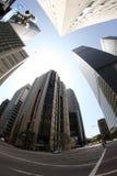 LA im Stadtzentrum gelegen Stockfotografie
