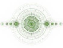 La imagen abstracta del fractal del color. libre illustration