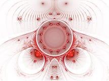 La imagen abstracta del fractal del color. Fotos de archivo libres de regalías