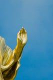 La imagen antigua de Buda Imágenes de archivo libres de regalías