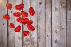 La imagen compuesta del corazón hincha 3d Imagen de archivo