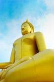 La imagen de Buddha es grande Fotos de archivo libres de regalías