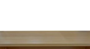 la imagen de la tabla de madera delante del extracto empañó el fondo de Foto de archivo