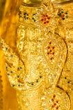 La imagen de las estatuas de Buda en Wat Ban Den, el templo de la pieza en Chiang Mai Thailand Fotos de archivo