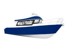 La imagen de un barco de motor del pasajero Imagenes de archivo