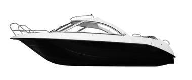 La imagen de un barco de motor del pasajero Imagen de archivo libre de regalías