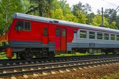 La imagen de un tren Imagen de archivo libre de regalías