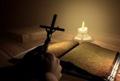 La imagen del Cristo Fotografía de archivo