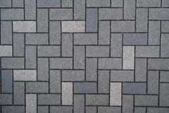La imagen del detalle de la superficie de la textura del piso del ladrillo para el fondo foto de archivo libre de regalías