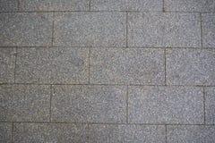 La imagen del detalle de la superficie de la textura del piso del ladrillo para el fondo fotos de archivo