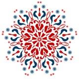 La imagen del extracto del vector de la mandala Imagen de archivo libre de regalías
