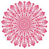 La imagen del extracto del vector de la mandala Fotos de archivo libres de regalías