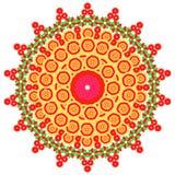 La imagen del extracto del vector de una flor Imagen de archivo libre de regalías
