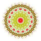La imagen del extracto del vector de una flor Fotos de archivo libres de regalías