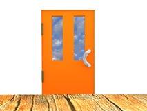 La imagen del a puerta cerrada Imagen de archivo libre de regalías