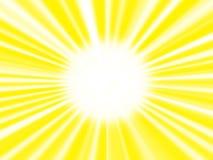 La imagen del sol. Fotos de archivo libres de regalías