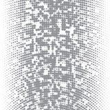 La imagen del vector de los puntos grises de diversos tamaños tiene diversa densidad en el blanco libre illustration