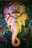 La imagen escultural de la deidad Ganesha Fotos de archivo